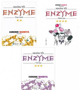 bo sach nhan to enzyme 268x300 - 15 quyển sách hay về sức khỏe đầy sâu sắc và thực tiễn