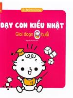 sach day con kieu nhat giai doan tre 0 tuoi 150x200 - Dạy Con Kiểu Nhật – Giai Đoạn Trẻ 0 Tuổi