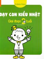 sach day con kieu nhat giai doan tre 2 tuoi 150x200 - Dạy Con Kiểu Nhật – Giai Đoạn Trẻ 2 Tuổi