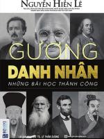 sach guong danh nhan nhung bai hoc thanh cong 150x200 - Gương Danh Nhân – Những Bài Học Thành Công