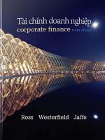 sach tai chinh doanh nghiep corporate 150x200 - Tài Chính Doanh Nghiệp – Corporate Finance