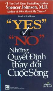 sach yes or no nhung quyet dinh 176x300 - 25 cuốn sách hay về cuộc sống vô cùng giản dị và gần gũi