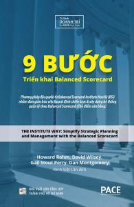 sach 9 buoc trien khai balanced scorecard 195x300 - 9 quyển sách hay về KPI cung cấp kiến thức hữu ích và thực tế