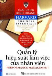 sach cam nang kinh doanh quan ly hieu suat lam viec cua nhan vien 204x300 - 9 quyển sách hay về KPI cung cấp kiến thức hữu ích và thực tế