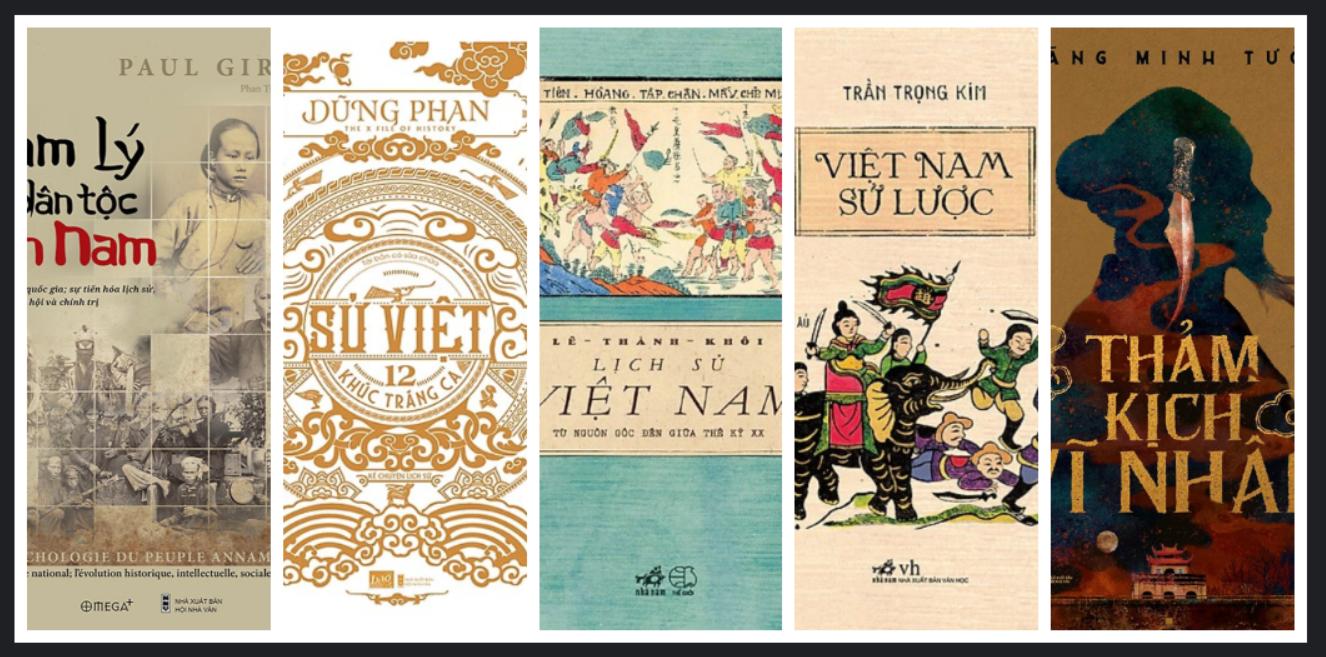 Photo of 11 cuốn sách hay về lịch sử Việt Nam rất dễ đọc và ghi nhớ