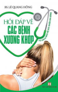 sach hoi dap ve cac benh xuong khop 188x300 - 7 quyển sách hay về bệnh xương khớp cung cấp các kiến thức hữu ích