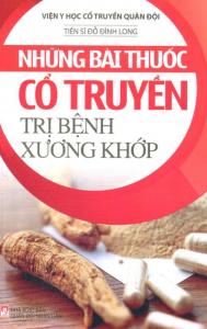 sach nhung bai thuoc co truyen tri benh xuong khop 189x300 - 7 quyển sách hay về bệnh xương khớp cung cấp các kiến thức hữu ích