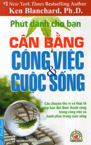 sach phut danh cho ban can bang cong viec va cuoc song 189x300 - 11 quyển sách hay về cân bằng cuộc sống kéo bạn trở về với thực tại