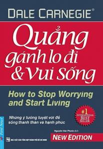 sach quang ganh lo di va vui song 207x300 - 9 cuốn sách hay về áp lực cuộc sống giúp bạn bóc tách những lo âu, phiền não
