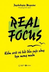sach real focus kiem soat va bat dau cuoc song ban mong muon 206x300 - 11 quyển sách hay về cân bằng cuộc sống kéo bạn trở về với thực tại