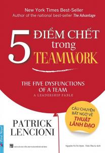 sach 5 diem chet trong teamwork 207x300 - 11 cuốn sách hay về làm việc nhóm gắn kết và hiệu quả