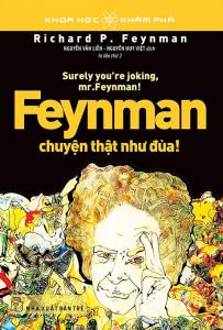 sach feynman chuyen that nhu dua 203x300 - 25 cuốn sách hồi ký hay khiến người đọc phải suy ngẫm khi gấp sách lại