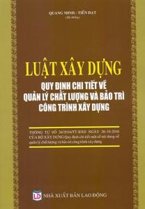 sach luat xay dung quy dinh chi tiet ve quan ly chat luong 208x300 - 11 cuốn sách hay về quản lý chất lượng đầy đủ và toàn diện