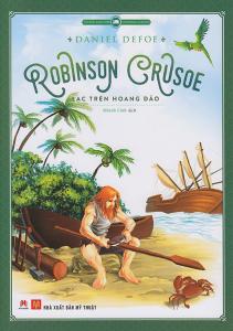 sach robinson crusoe lac tren hoang dao 211x300 - 11 quyển sách hay về sinh tồn cung cấp nhiều bài học và kiến thức giá trị