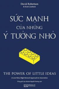sach suc manh cua nhung y tuong nho 201x300 - 50 cuốn sách kinh doanh hay nên đọc đối với bất kỳ ai