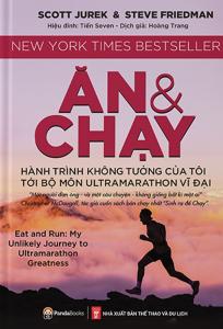 sach an va chay hanh trinh khong tuong cua toi 204x300 - 19 quyển sách hay về thể thao tạo động lực mạnh mẽ cho bạn đọc