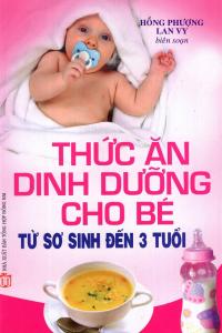 sach thuc an dinh duong cho be tu so sinh den 3 tuoi 200x300 - 11 cuốn sách hay về chăm sóc trẻ sơ sinh khỏe mạnh, thông minh
