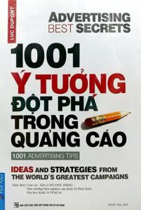 sach 1001 y tuong dot pha trong quang cao 201x300 - 7 cuốn sách hay về thông điệp quảng cáo chính xác và hiệu quả